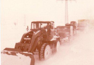 Vor 40 Jahren: Schneestürme in Norddeutschland