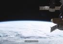 ISS-Video: Gewitter über Belgien