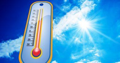 Hitze mit rekordverdächtigen Temperaturen