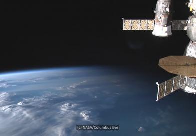 ISS-Video: Tropengewitter in Afrika