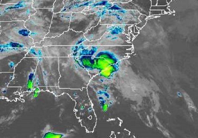 Sturm BERTHA trifft auf USA