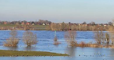 Luftmassengrenze und Hochwassergefahr